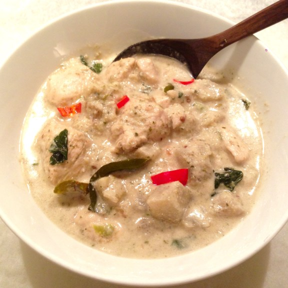 Thai Green Chicken Curry - Curry Verde Thai di Pollo