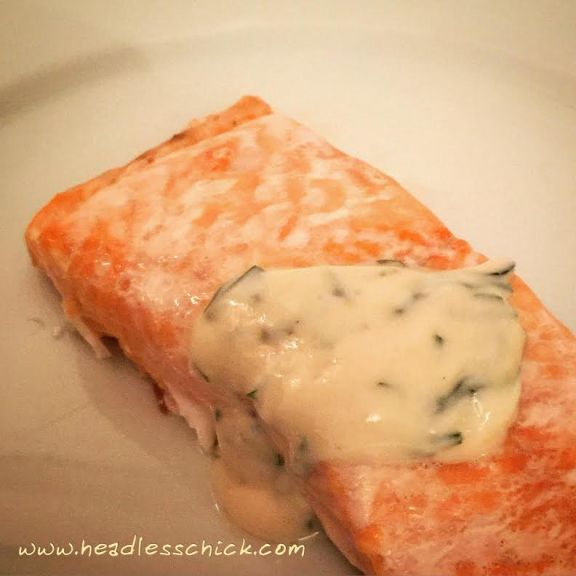 Fillet of Salmon in Salt-crust