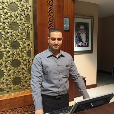 Mrs Youssef Mustafa Front Office Manager Marriot Salalah