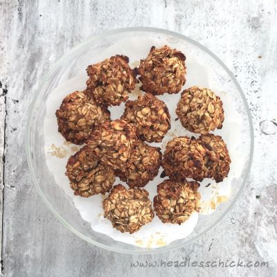 Oatmeal and Banana Breakfast Cookies