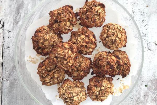 Oatmeal and Banana Breakfast Cookies