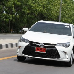 All New Camry Headlightmag Dimensi Grand Avanza Exclusive First Impression ทดลองข บ Toyota 2 5g Esport ทาง Test Drive 099 Resize