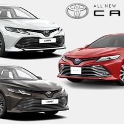 All New Camry Specs Toyota Tnga เวอร ช นไทย จะม ให เล อก 3 เคร องยนต ร ป กด Configuration จากเวอร นร สเซ ย