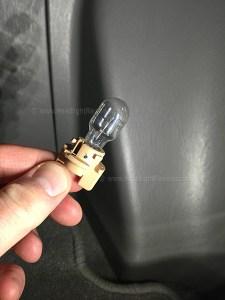 Stock Reverse Light Bulb