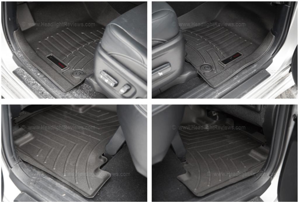 WeatherTech Floor Mats Installed
