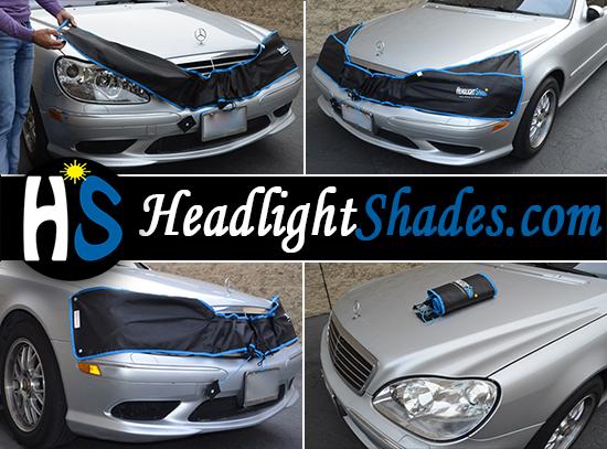 Headlight Shades - Universal Model