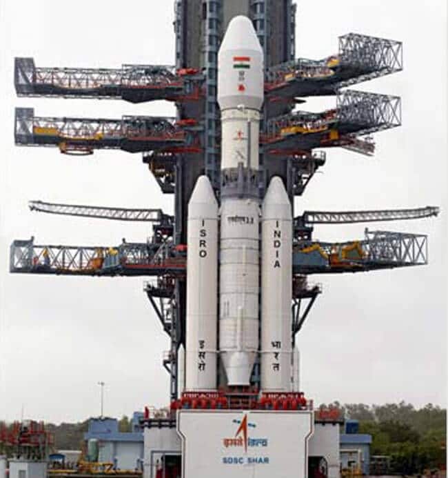 ISRO India's heaviest rocket GSLV-III launches successfully