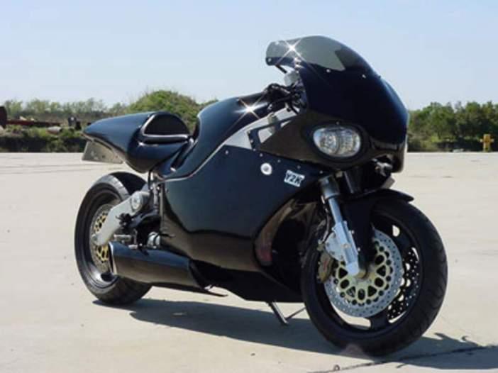 Fastest Motorcycle-MTT Turbine Superbike Y2K, 227 mph