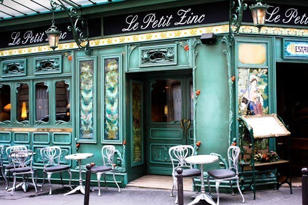 Image result for Paris roadside cafe