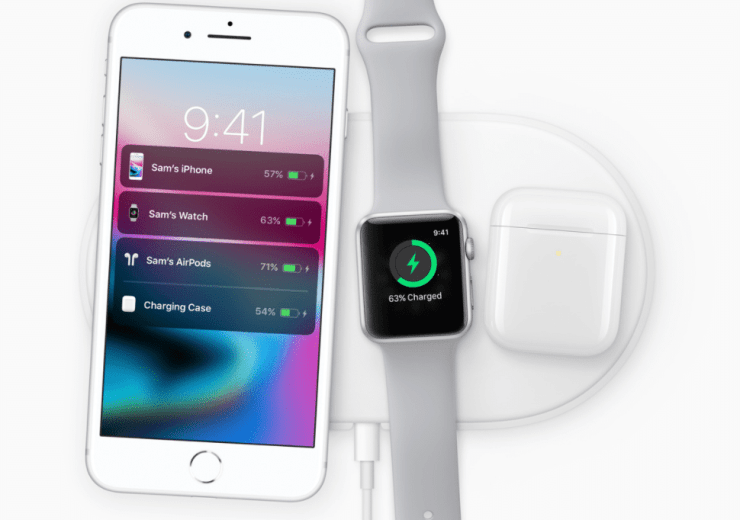 Apple iPhone 8 and iPhone 8 Plus charging pad