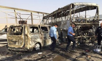 Twin attacks in Iraq, at least 50 died