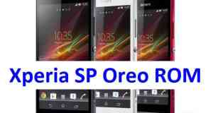 How to install Android Oreo on Xperie SP based on AOSP ROM
