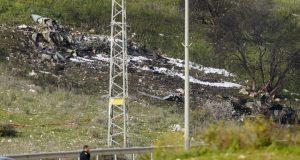 Syria war: Israeli F-16 fighter jet crashes