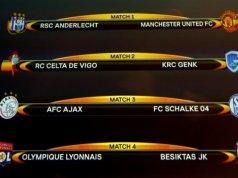 Europa League Final Draw