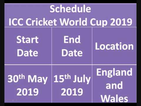 Icc Cricket World Cup 2015 Schedule Pdf With Time