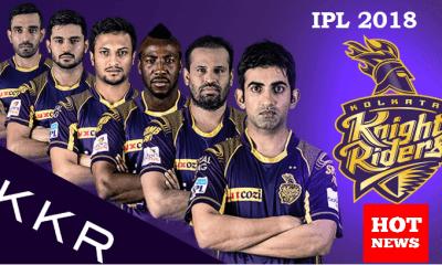 Kolkata Knight Riders (KKR) IPL 2018