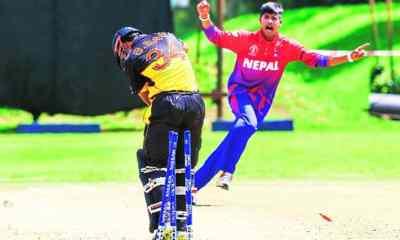 Nepal beat PNG