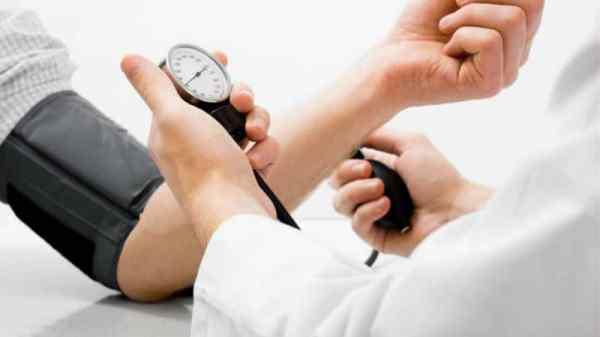 High blood pressure measurement