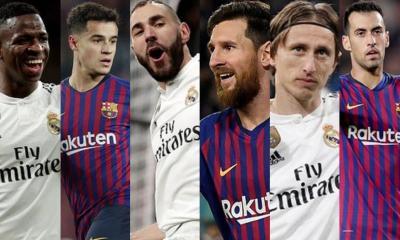 Barcelona vs Real Madrid El Clasico