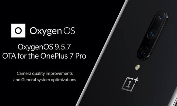 OnePlus 7 Pro gets OXYGEN OS 9.5.7 Update,