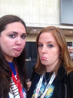 Sad Faces at Comic Con being over