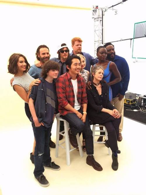 SDCC TWD Cast