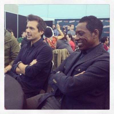 Len Wiseman and Orlando Jones