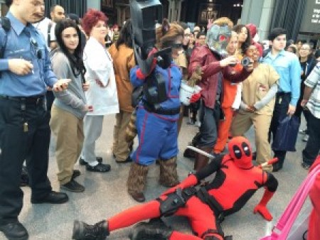 Fandoms collide in the final seconds of NYCC