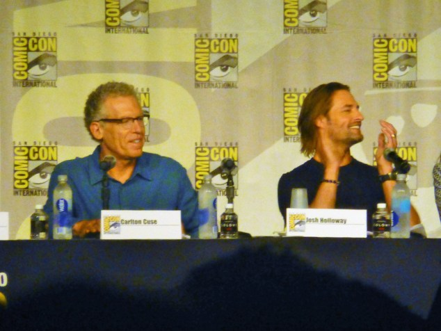 Carlton Cuse and Josh Holloway