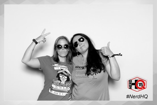 Have we MENTIONED we love photo booths?