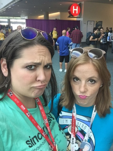 """Traditional """"Goodbye Convention Center"""" Sad Face Selfie. Patent Pending."""