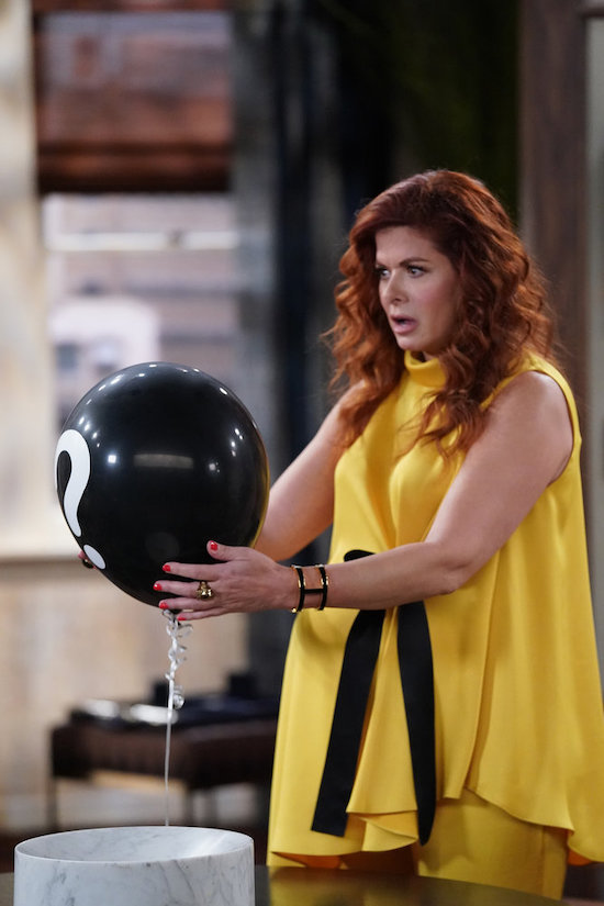 Debra Messing in the Will & Grace episode Broadway Boundaries