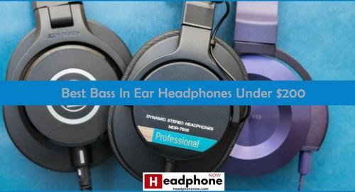 Best Bass In Ear Headphones