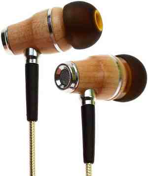Symphonized NRG 2.0 Premium Genuine Wood In-ear Noise-isolating Headphones