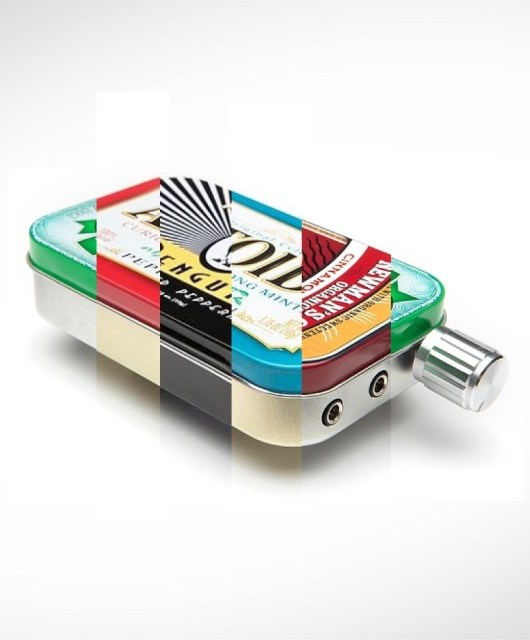CMoy headphone amp rainbow tin