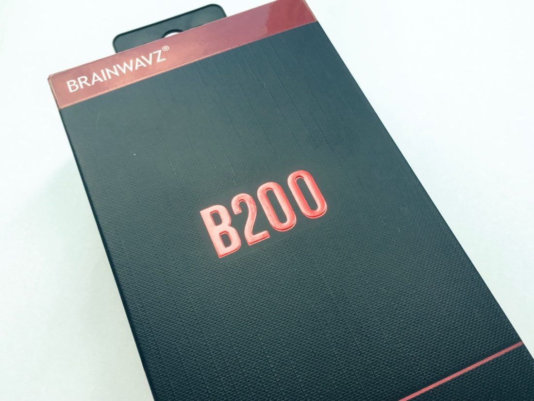 Brainwavz B200 packaging