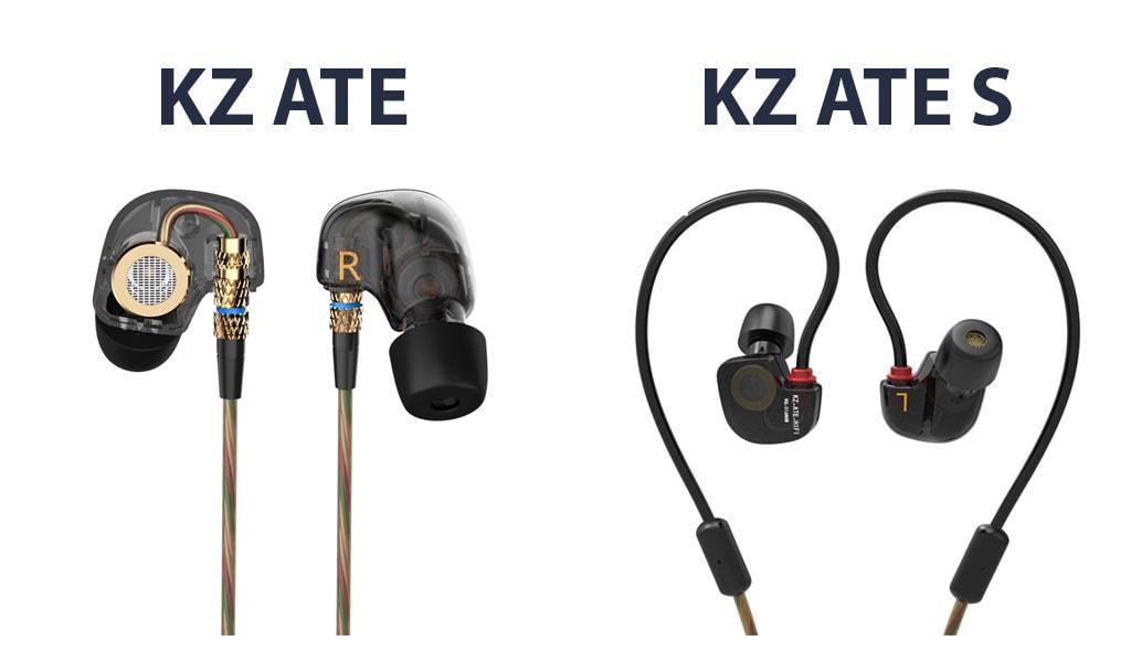KZ ATE vs KZ ATE S