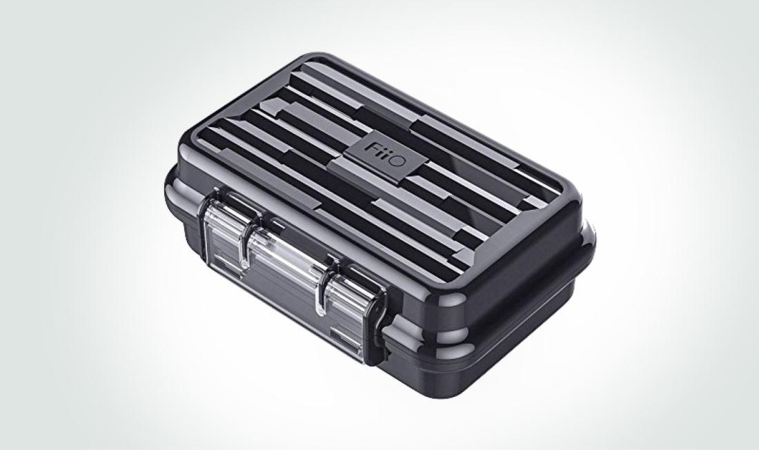 FiiO waterproof earphone hard carry case