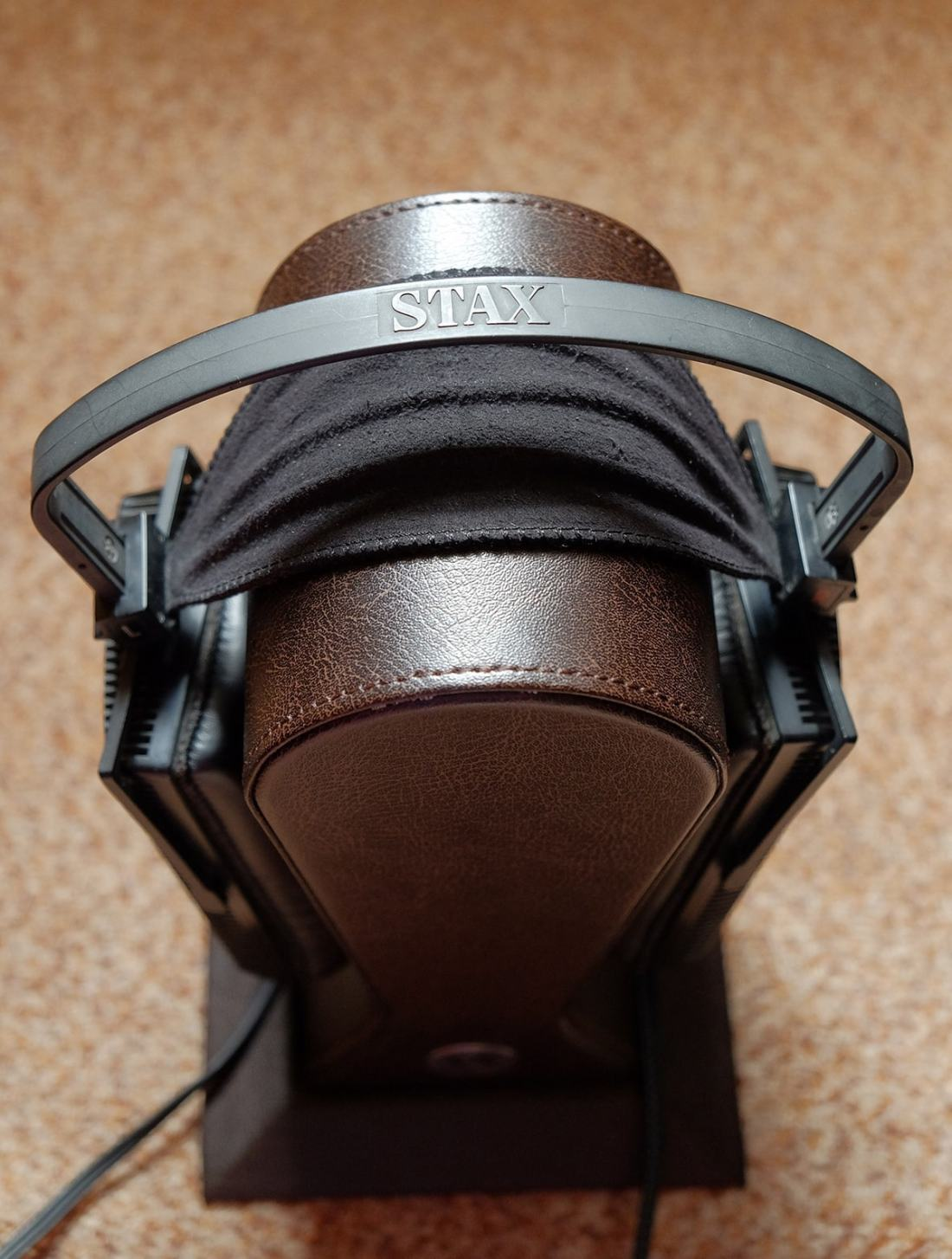 Headband assembly with cloth headpad
