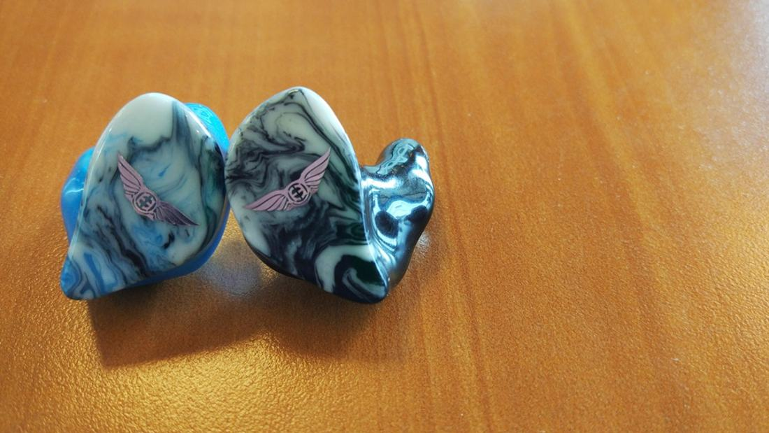 The swirled faceplates are an Empire Ears favourite.