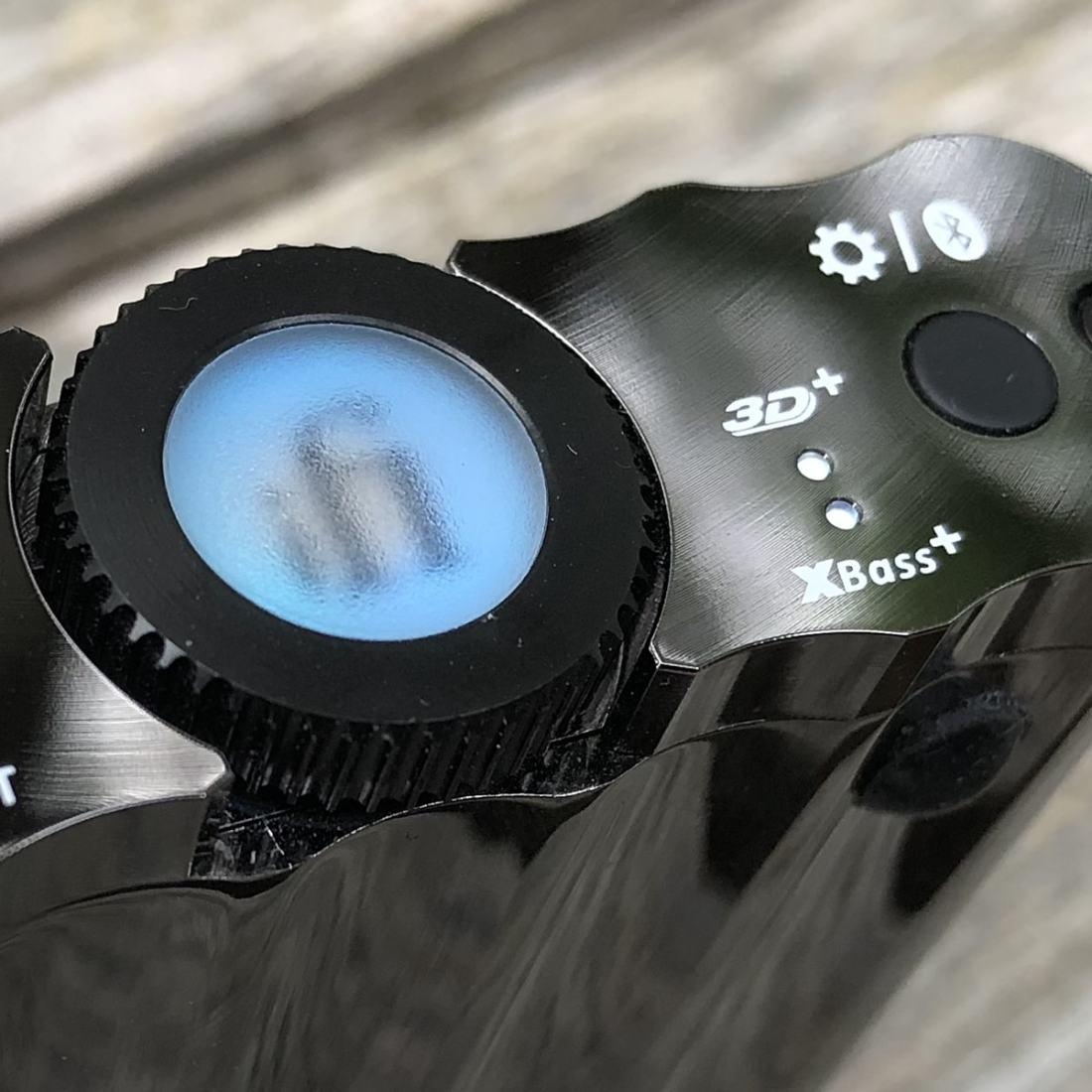 Volume Control Closeup