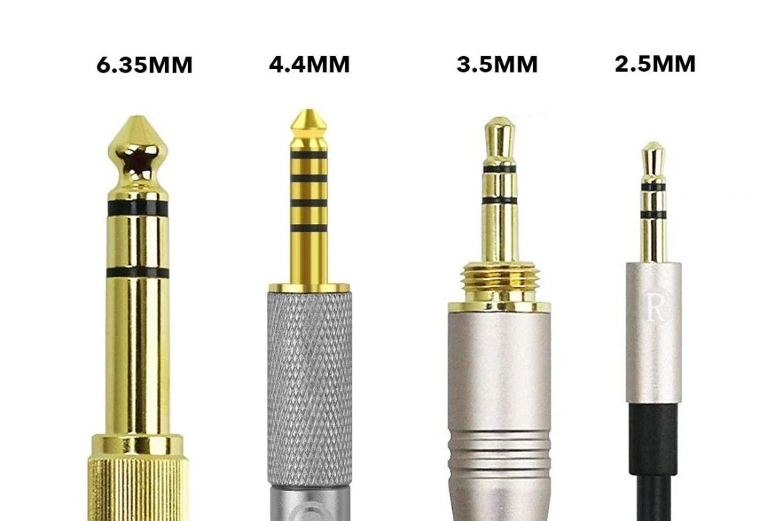 hight resolution of different sizes of headphone jacks plugs