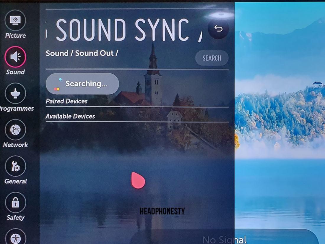 LG Bluetooth Setup 5