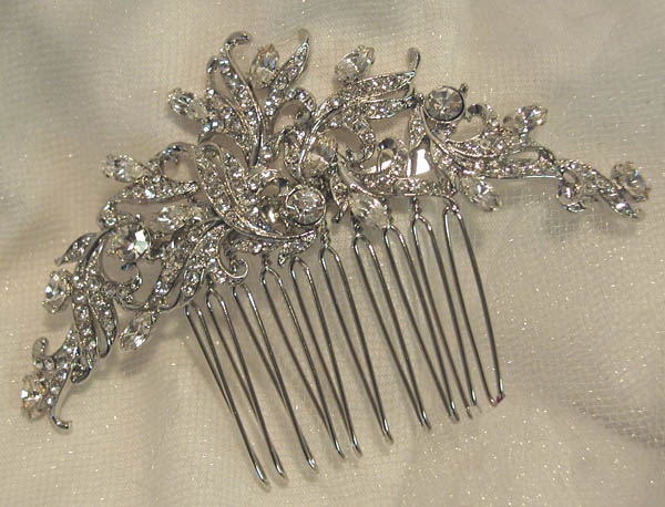 The Sophia Swarovski Rhinestone Bridal Comb from Head Piece Heaven