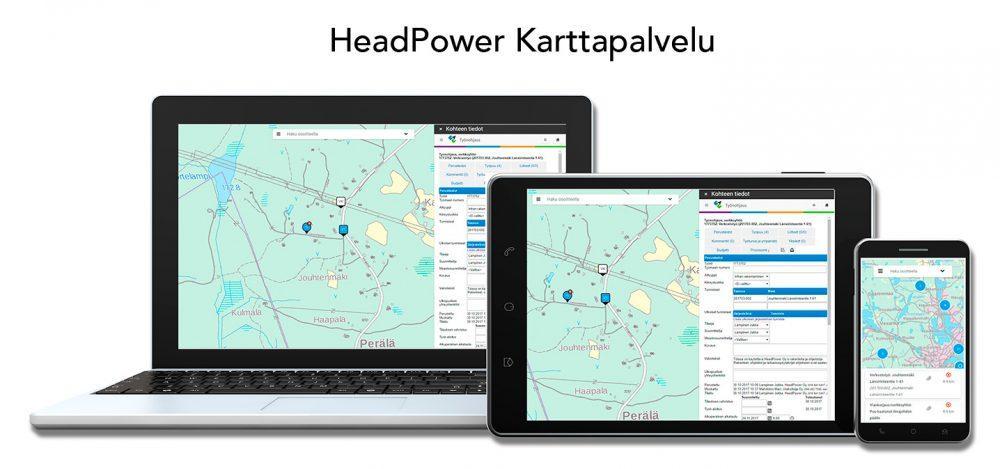 Karttapalvelu pitää tiedot ja ihmiset kartalla myös mobiilisti