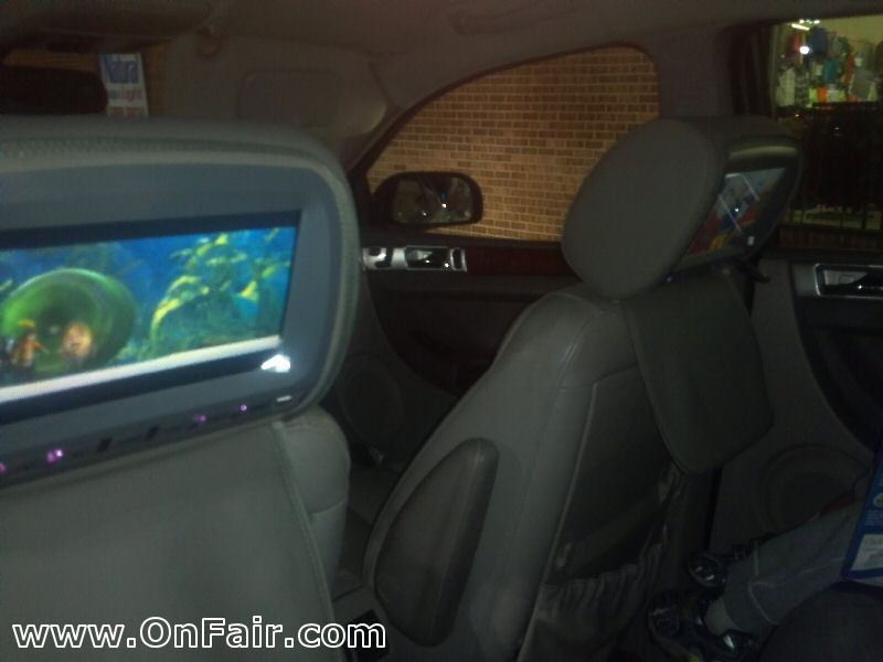 headrest dvd player install review in chrysler pacifica headrest - headrest dvd  wiring diagram