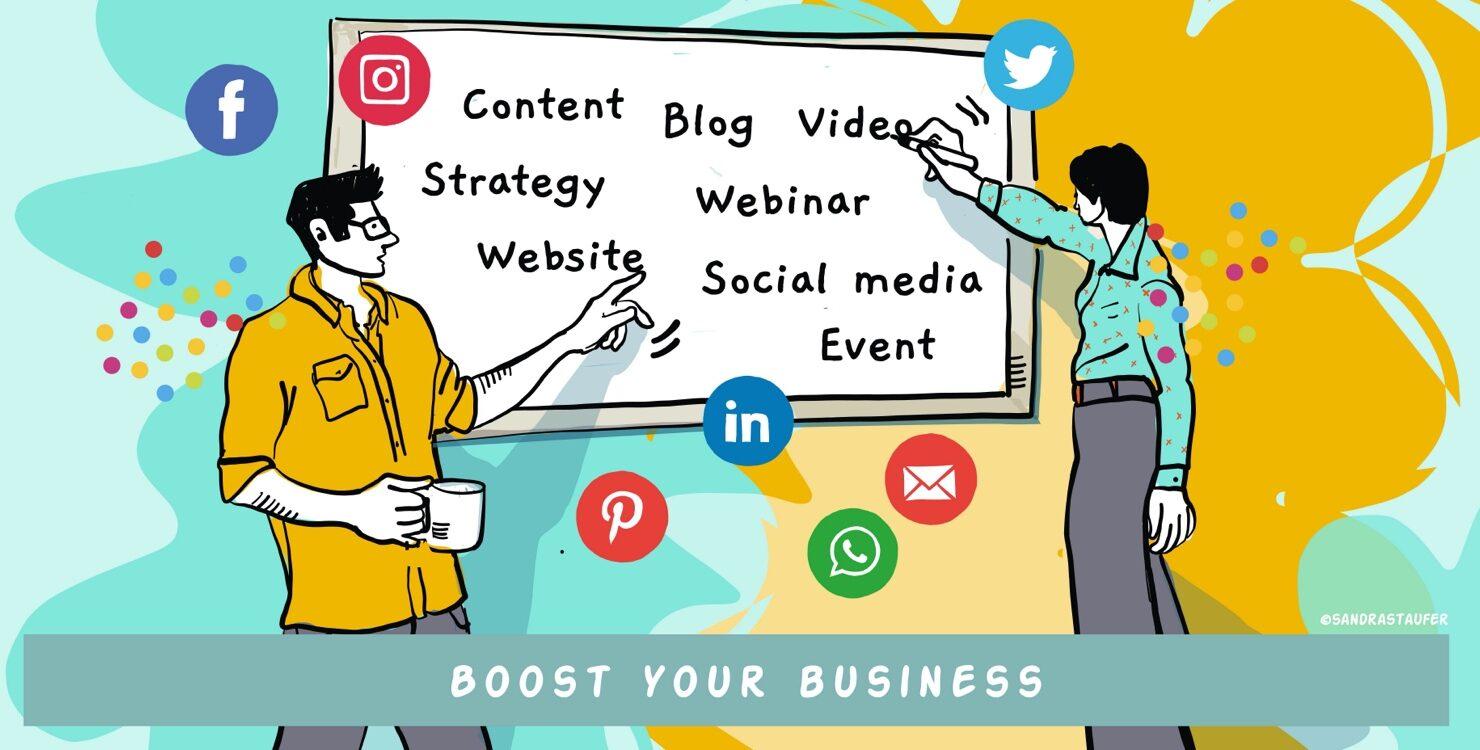 marketing your business business coaching module