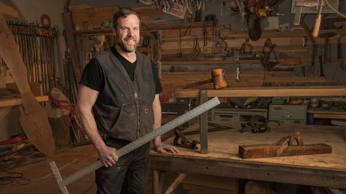 Woodworker Business Headshot