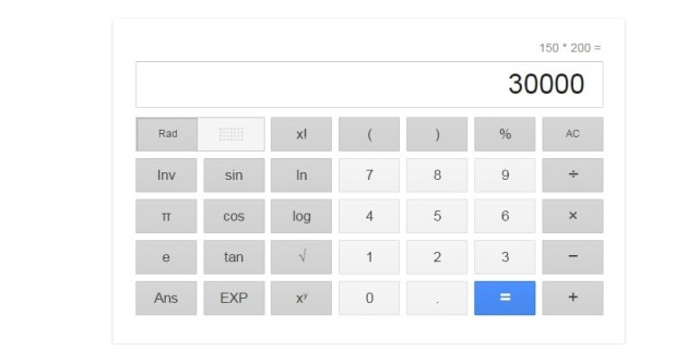 chrome calculator