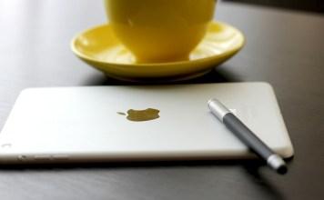 ipad pen coffee